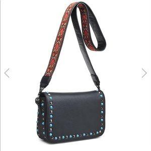 Urban expressions luxury vegan Crossbody handbag